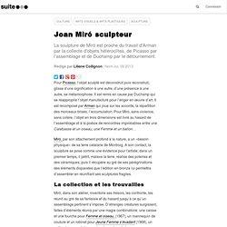 Joan Miró sculpteur