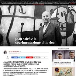 Joan Mirò e la sperimentazione pittorica