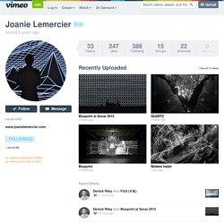 Joanie Lemercier on Vimeo