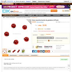 $1.94 - Cute Ladybug Fridge Magnets (5-Pack) - Lifestyle Gadgets