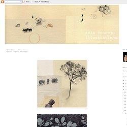 joanna concejo: arbres, fleurs, paysages