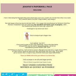 Joanne's Paperdoll Page