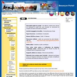 Besançon Portail Langues - Job interviews