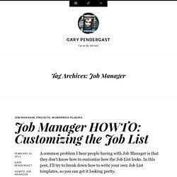 Gary Pendergast