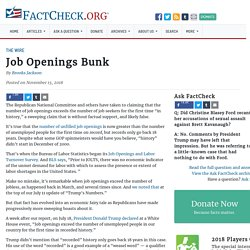 Job Openings Bunk