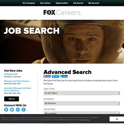 Job Search - Fox Careers
