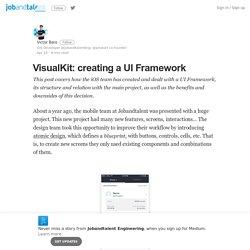 VisualKit: UI Framework (UIView - Theme - Stylable)