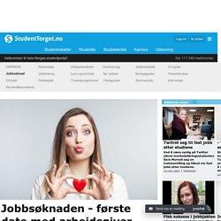 Jobbsøknaden - Den første daten med arbeidsgiver
