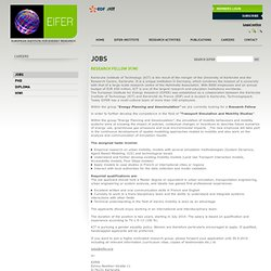 Jobs | Careers | EIFER