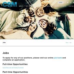 Jobs - CSM