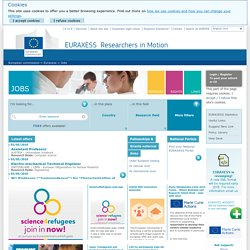Jobs - EURAXESS
