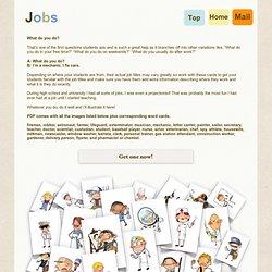 Jobs flash cards