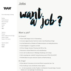 Jobs – GrafikdesignerIn