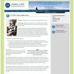 Jobs for Life - Building Lives. One Job at a Time.