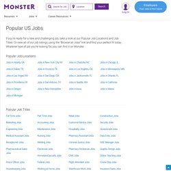 25 Hot Careers That Didn't Exist 10 Years Ago- Yahoo! HotJobs