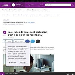 Les « jobs à la con » sont partout (et c'est à ça qu'on les reconnait…)