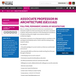 Jobs at the University of Reading – University of Reading