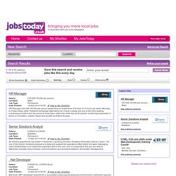 jobstoday Search Results