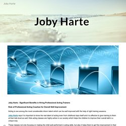 Joby Harte