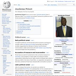 Jocelerme Privert - Wikipedia