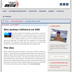 Disc Jockeys influence on SDR | Contesting & SDR