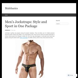Men's Jockstraps: Style and Sport in One Package
