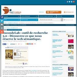 JocondeLab : outil de recherche 3.0 - Découvrez ce que nous réserve le web sémantique.