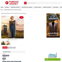 Jodie Whittaker Dr Who 13th Doctor Costume