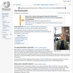 Joe Bastianich - Wikipedia - Cyberfox