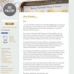 Joe Pastry…