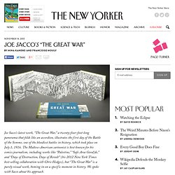 "Joe Sacco's ""The Great War"" - The New Yorker"