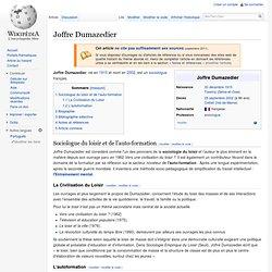 Joffre Dumazedier