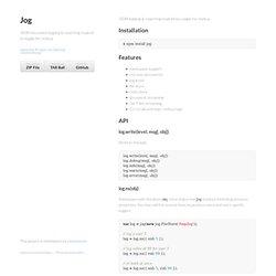 Jog by visionmedia