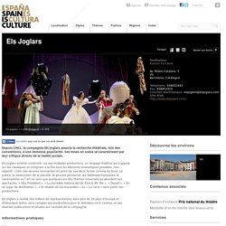 Els Joglars. Théâtre sur Spain is Culture.