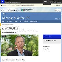 Johan Rockström 12 juli kl 13:00 - Sommar & Vinter i P1
