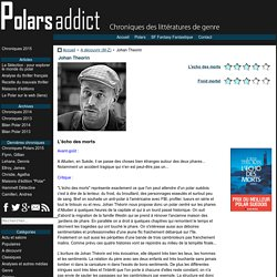Johan Theorin sur Polars Addict