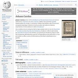 Johann Carolus