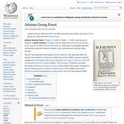 Johann Georg Faust
