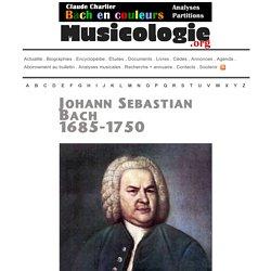Johann Sebastian Bach (1685-1750) - musicologie.org