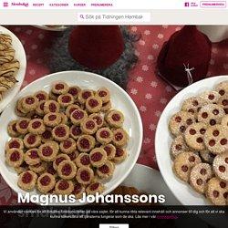 Magnus Johanssons småkakor – Tidningen Hembakat