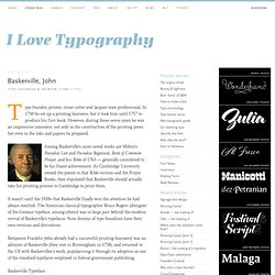 john baskerville an influential typographer essay John baskerville, fine type, and the hound of heaven.