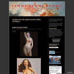 John Currin 1962- « Femme Femme Femme