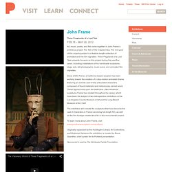 John Frame - Portland Art Museum