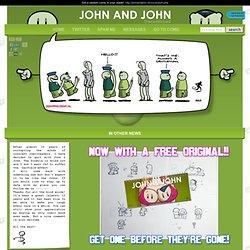 John and John: Guestcomic 2006: Reid, Geleijnse, en Van Tol