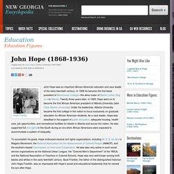 John Hope (1868-1936)