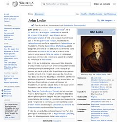 critical analyis of john locke hegel Complete summary of georg wilhelm friedrich hegel's the phenomenology of spirit enotes plot summaries cover all the significant action of the phenomenology of spirit  (for example, john locke.
