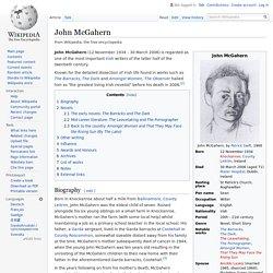 John McGahern - Wikipedia