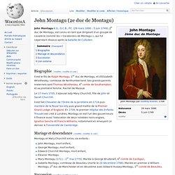 John Montagu 2e duc 1690-1749