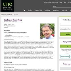 John Pegg - University of New England (UNE)