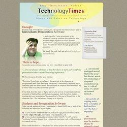 John's Rant: Presentation Software